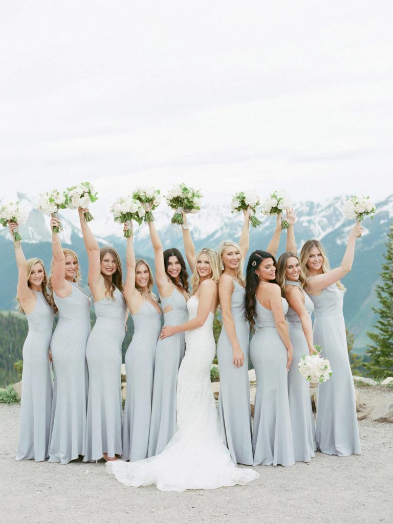 Aspen wedding film photography - bridesmailds