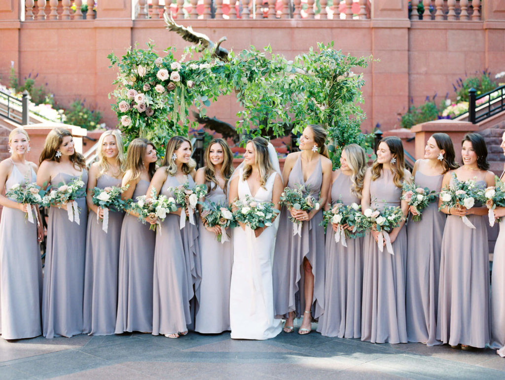 Tara Marolda Aspen Wedding Film photographer - bridesmaies