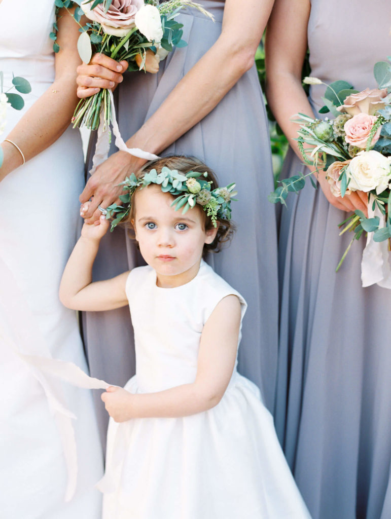 Tara Marolda Aspen Wedding Film photographer - flower girl