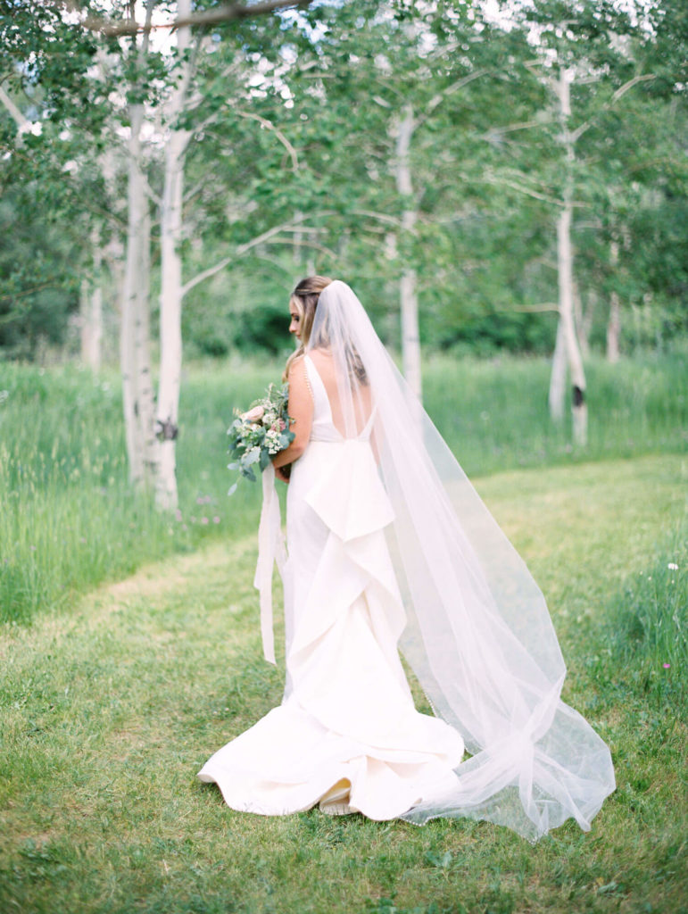 Tara Marolda Aspen Wedding Film photographer - bride
