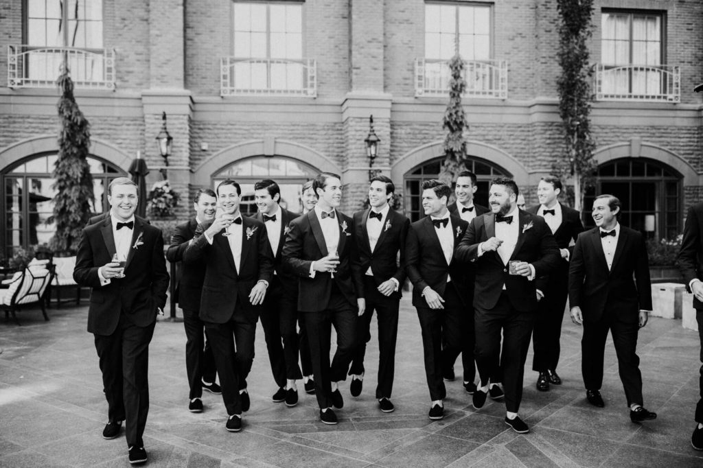 Tara Marolda Aspen Wedding Film photographer - Bridal party at St Regis