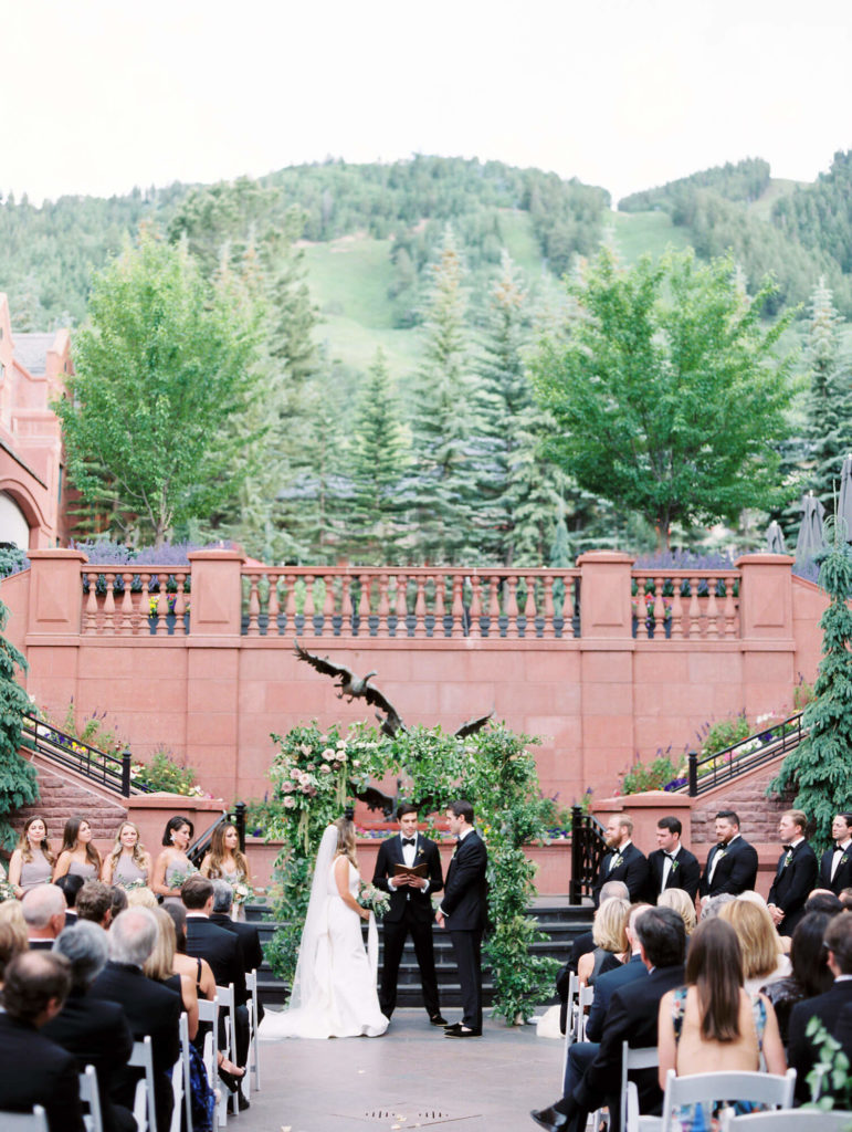 Tara Marolda Aspen Wedding Film photographer - bridal party