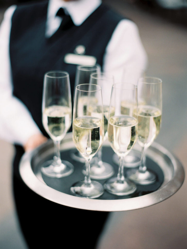 Tara Marolda Aspen Wedding Film photographer - champagne