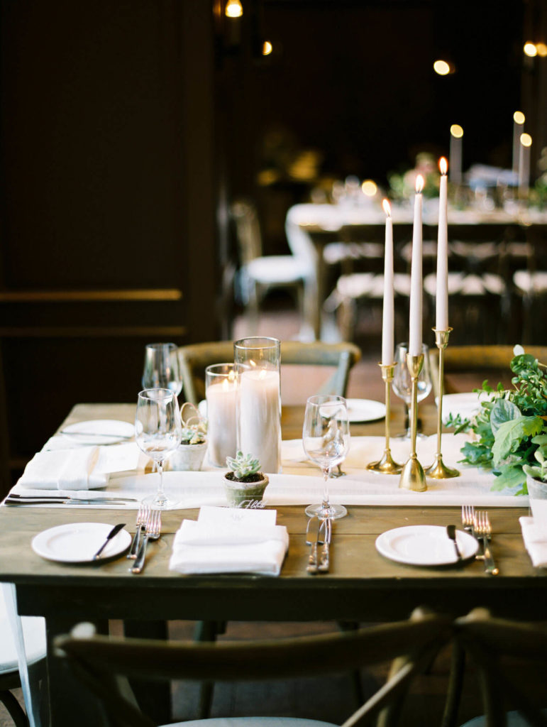 Tara Marolda Aspen Wedding Film photographer - catered dinner