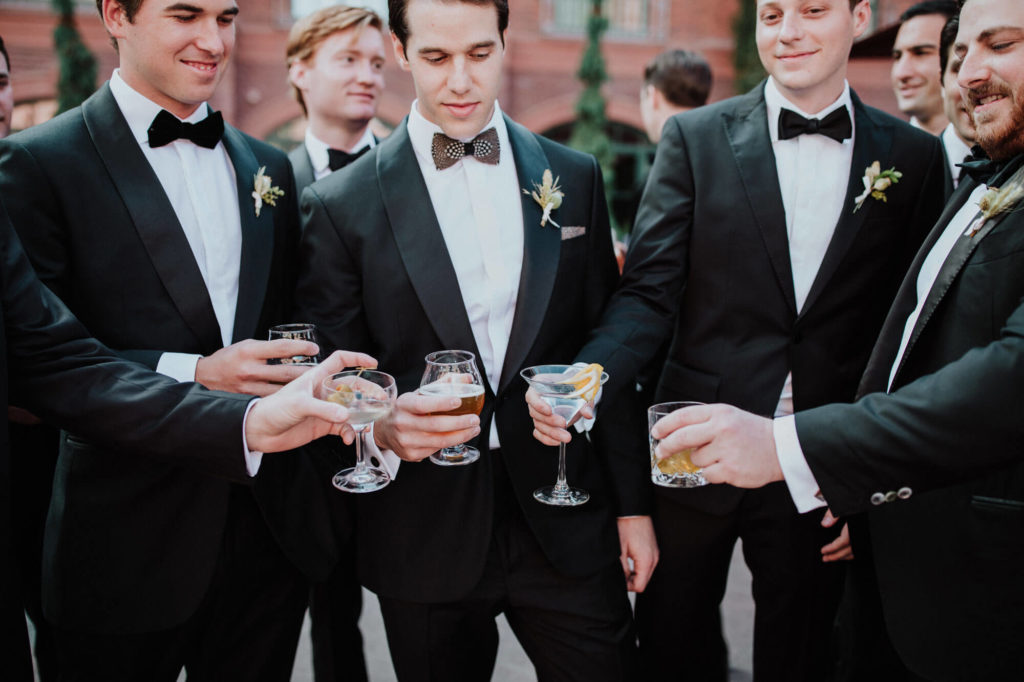 Tara Marolda Aspen Wedding Film photographer - groomsmen