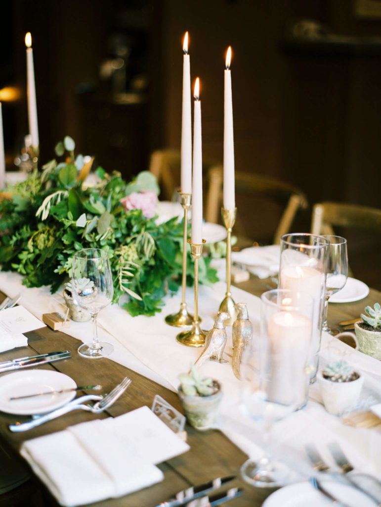Tara Marolda Aspen Wedding Film photographer - Dinner Table
