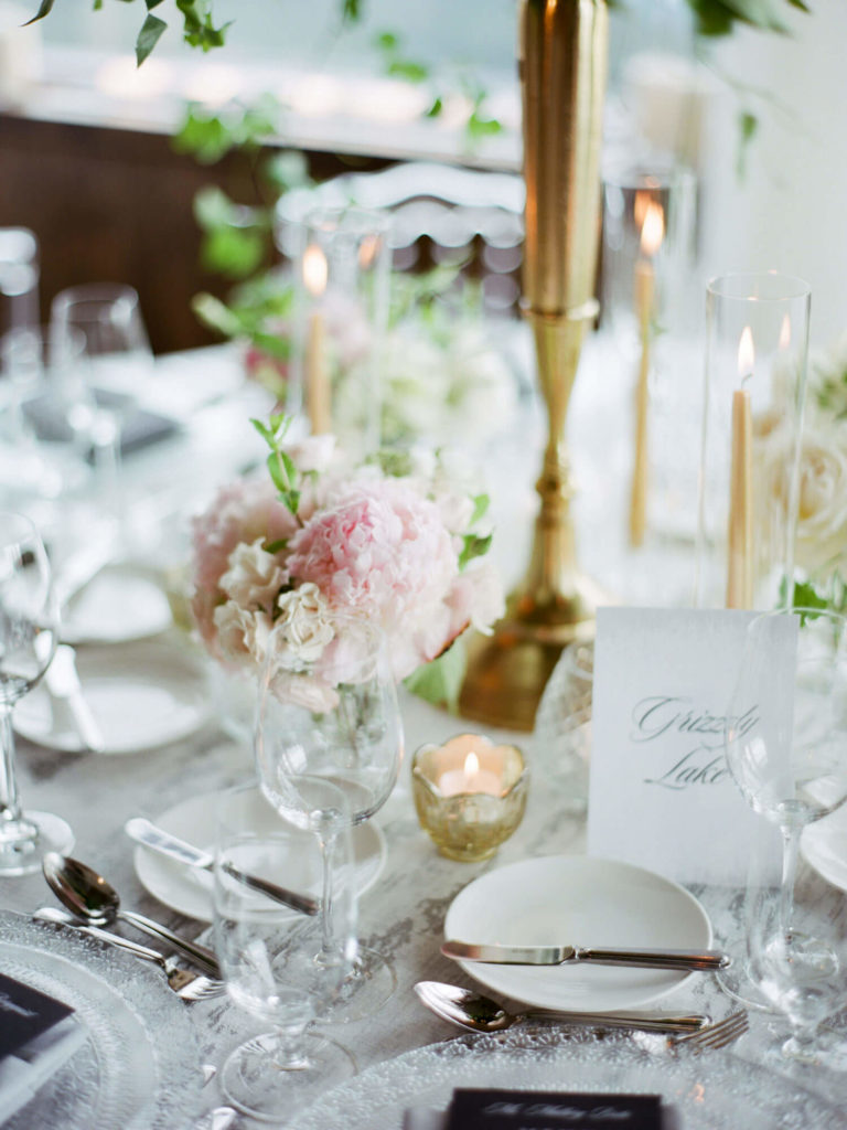 Aspen wedding film photography - wedding reception