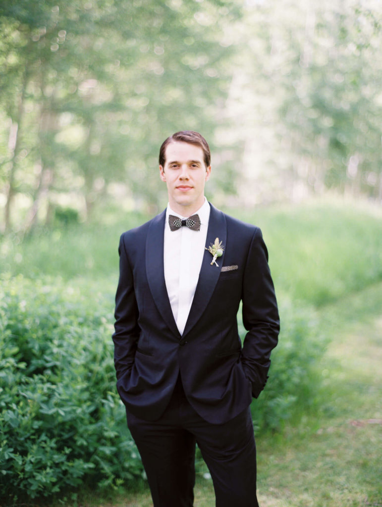 Tara Marolda Aspen Wedding Film photographer - groom