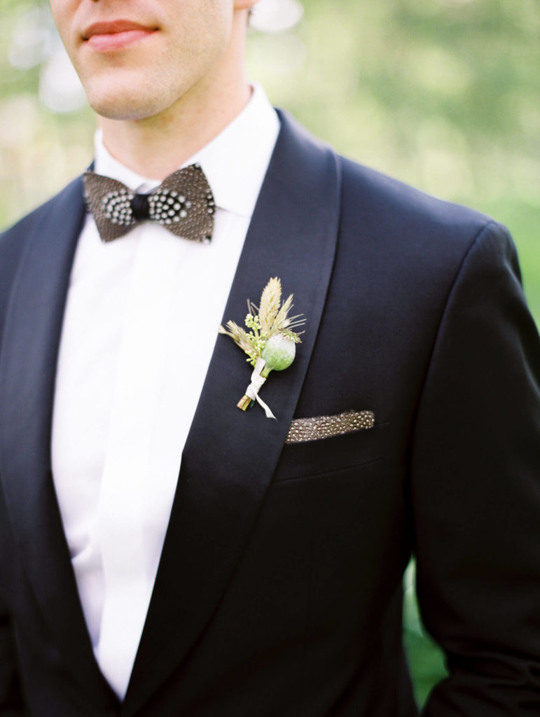 Tara Marolda Aspen Wedding Film photographer - groom detail