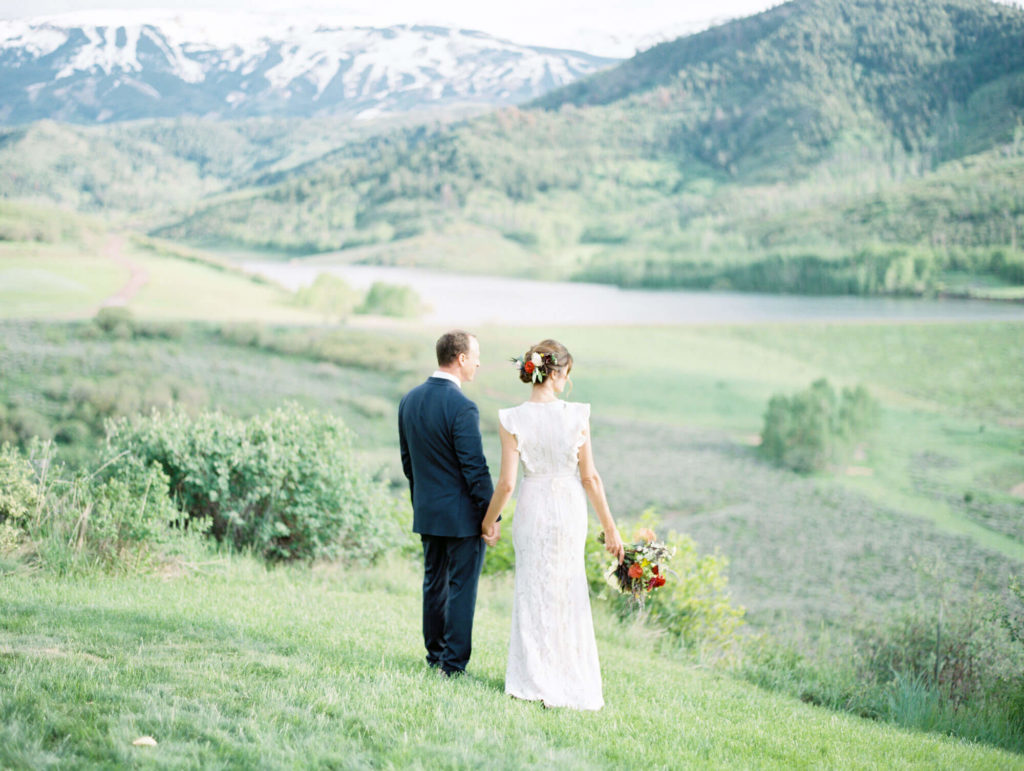 Aspen Wedding photographed by Tara Marolda