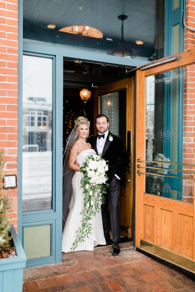 Aspen Winter Wedding photography by Tara Marolda