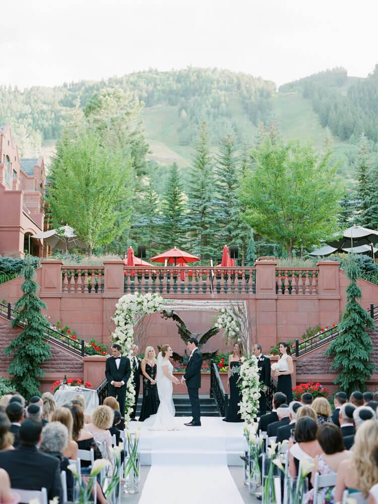 Wedding ceremony at St Regis photography by Tara Marolda