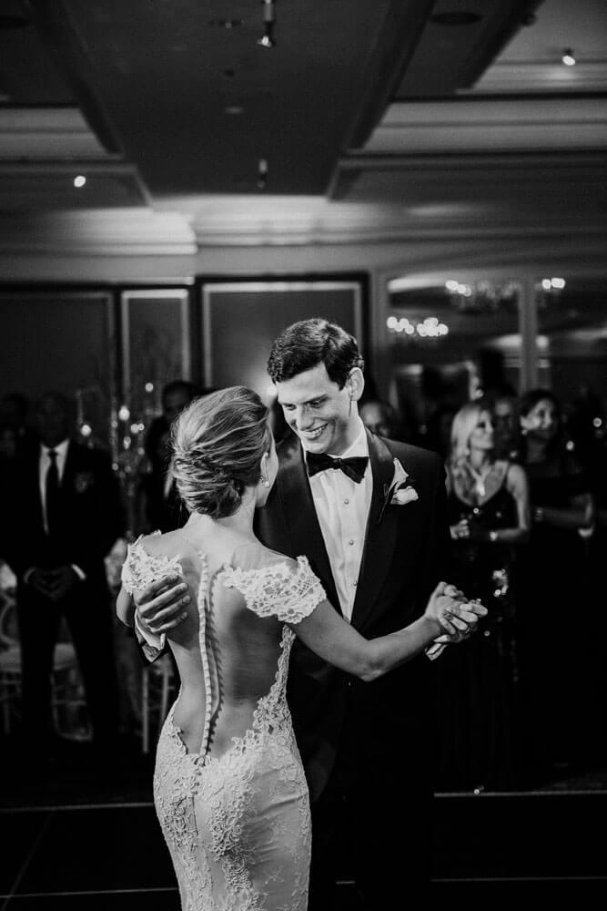 Aspen Wedding Reception bride and groom dancing photography by Tara Marolda