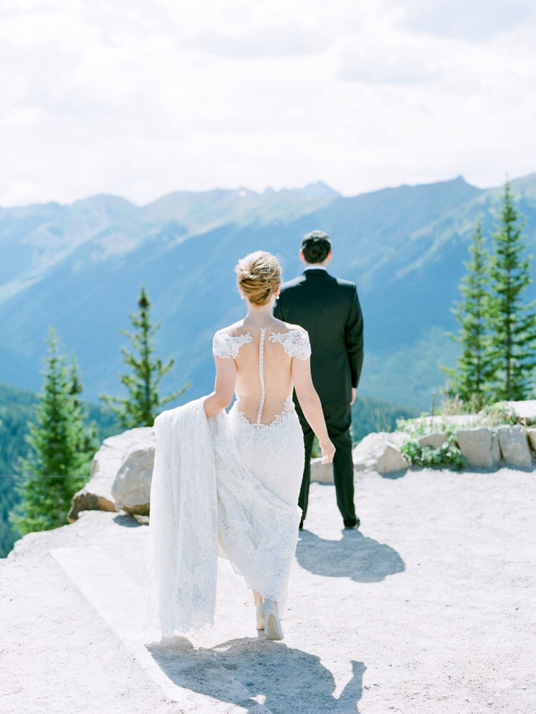 Aspen Mountain Wedding photography by Tara Marolda