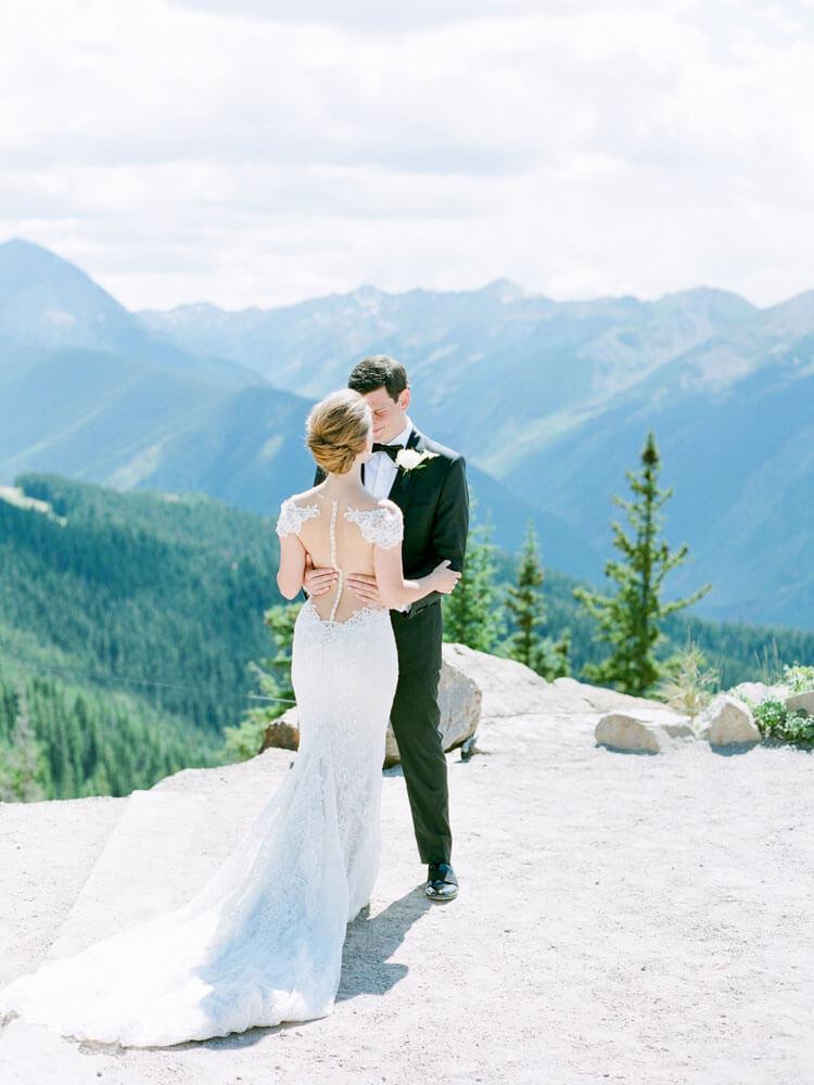 Cydney + Michael Aspen Mountain Wedding photography by Tara Marolda